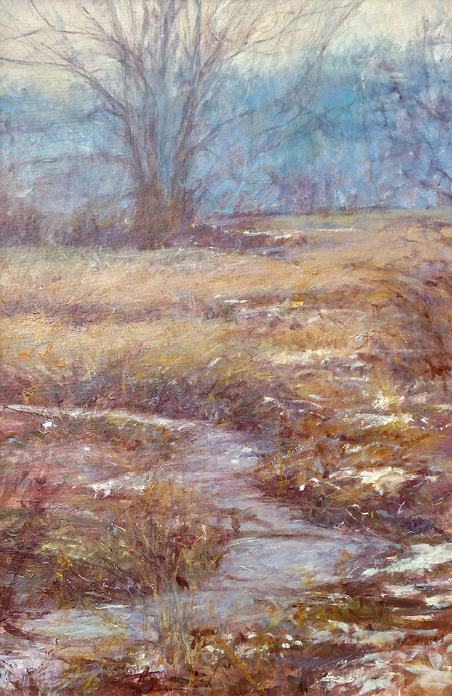 April Come She Will, Millbrook Marsh, oil, 30x 20, collection Rebecca Holter-sm