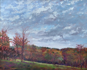 Julian Plein Air Day, oil, 18x24, collection Rebecca Holter-sm