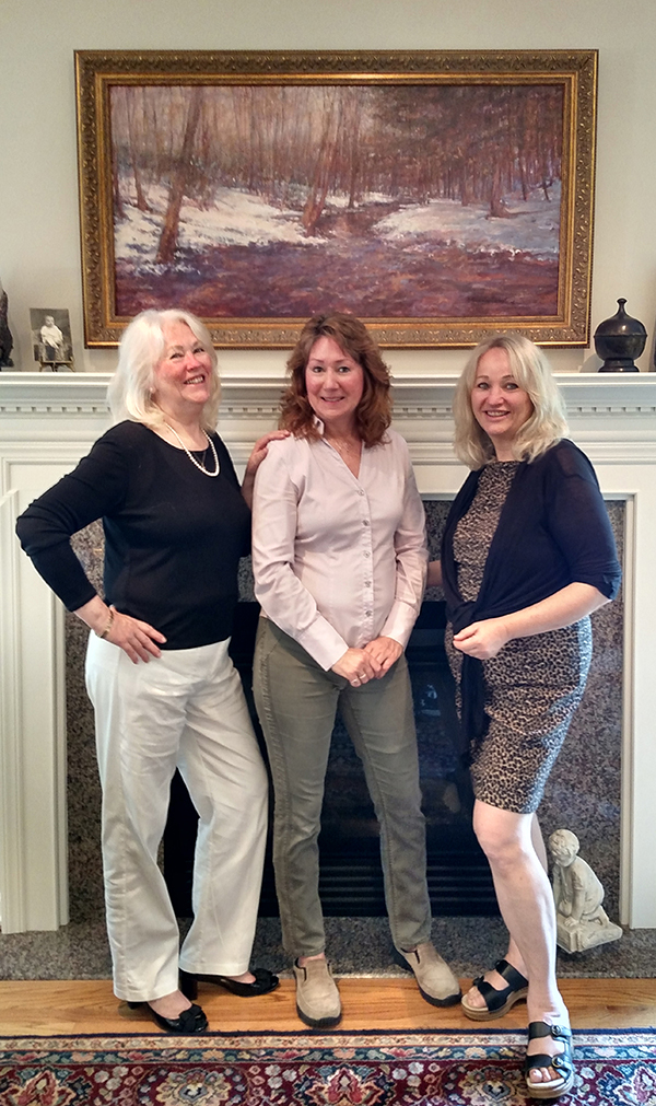 Kay Meleshenko, Susan Nicholas Gephart, Rebecca Holter2-smwb